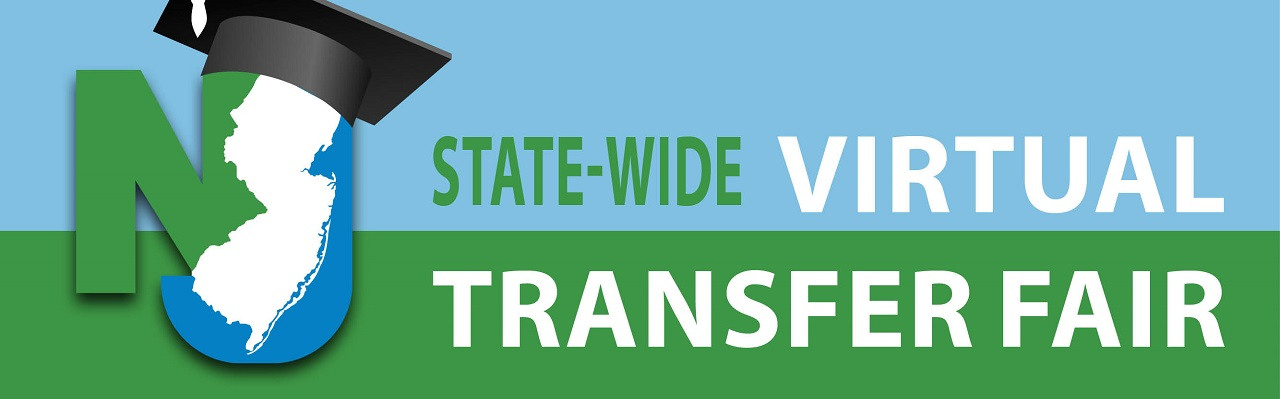 This virtual transfer fair is open to all New Jersey community college students.  Students are invited to meet and interact with transfer admissions representatives from all participating New Jersey colleges and universities.